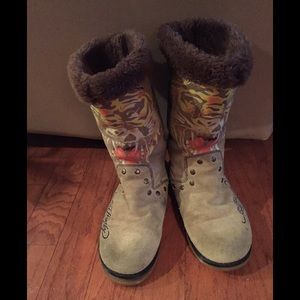 Ed Hardy Women's Boots, Size 9
